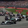 F1 - Alemania 2014 - Nico Rosberg - Mercedes GP - encabeza el peloton