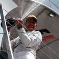 F1 - Gran Bretaña 2014 - Lewis Hamilton en el Podio