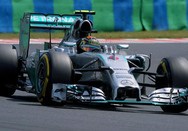 F1 - Hungria 2014 - Nico Rosberg - Mercedes GP