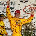 IndyCar - Iowa - Ryan Hunter Reay en el Victory Lane