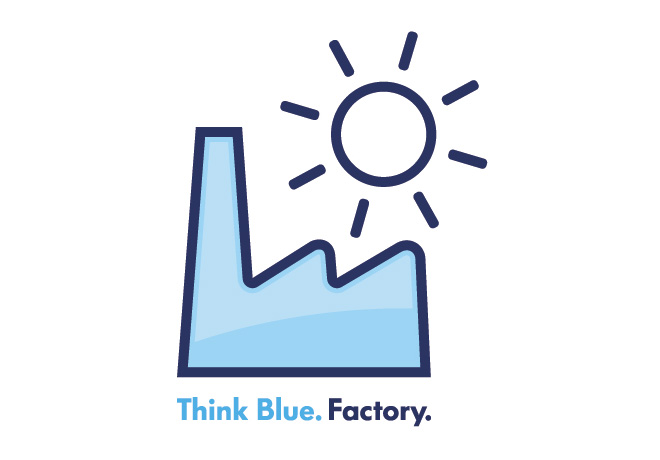 Logo - VW - Think Blue Factory