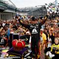 NASCAR - Indianapolis - Jeff Gordon en el Victory Lane