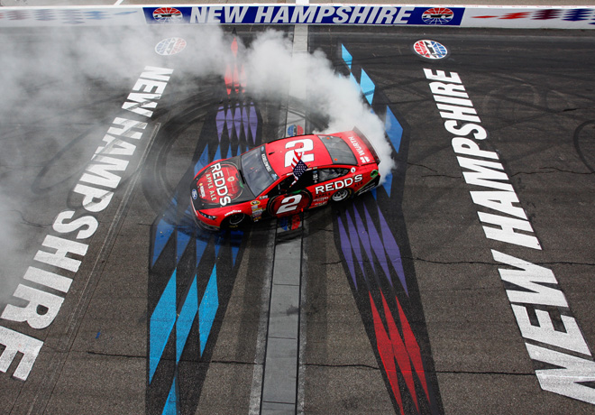 NASCAR - New Hampshire - Brad Keselowski - Ford Fusion