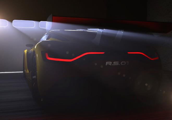 Renault Sport - Teaser RS01