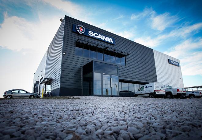 Scania inauguro oficialmente las instalaciones de su concesionario en Trenque Lauquen 1