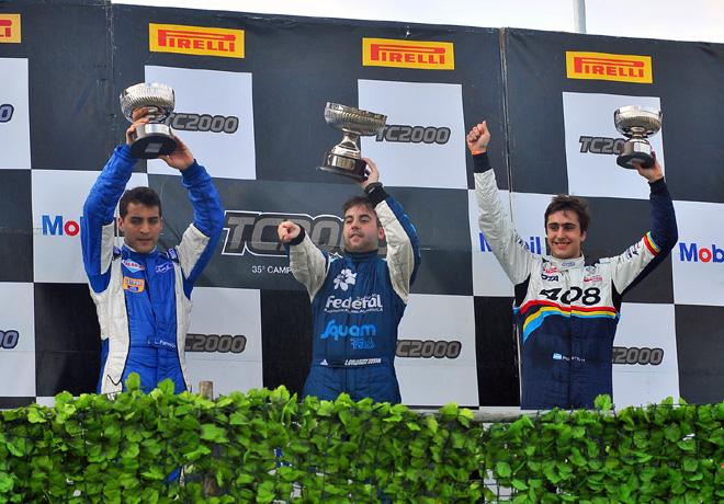 TC2000 - Parana 2014 - Luciano Farroni - Lucas Colombo Russell - Federico Panetta en el Podio