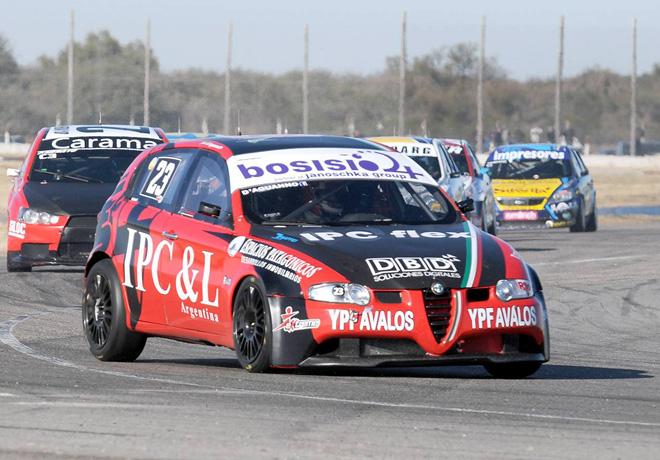 TN - San Luis II 2014 - Clase 3 - Guillermo DAguanno - Alfa Romeo 147