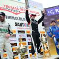 Top Race - Termas de Rio Hondo 2014 - Juan Cruz Alvarez - Agustin Canapino - Matias Rodriguez en el Podio