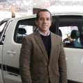 Toyota - La Rural 2014 - Gustavo Salinas junto a la Nueva Hilux