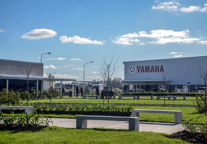 Yamaha Motor Argentina - Inauguracion 1