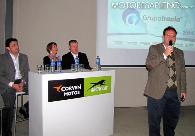 Corven Motos y Arctic Cat presentaron su alianza Productiva y Comercial 00