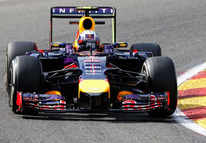 F1 - Belgica 2014 - Daniel Ricciardo - Red Bull