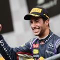 F1 - Belgica 2014 - Daniel Ricciardo en el Podio