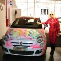 Fiat - Marta Minujin intervino un 500 que se exhibe en Arte Espacio - Almacrn de Arte 4