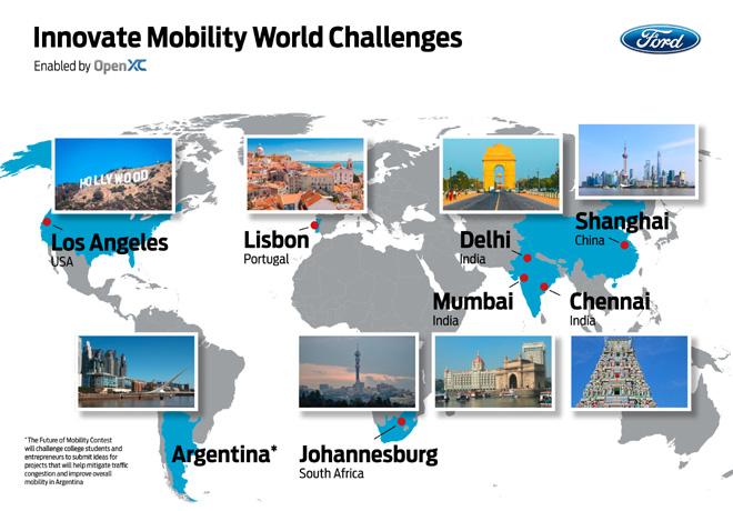 Ford busca en todo el mundo soluciones innovadoras para la movilidad