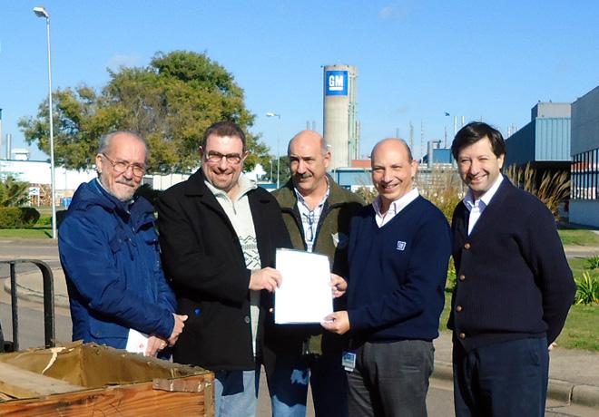 GM Argentina - Donacion de Motores