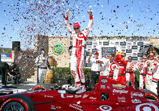 IndyCar - Sonoma - Scott Dixon en el Victory Lane