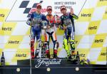 MotoGP - Silverstone - Lorenzo - Marquez - Rossi en el Podio