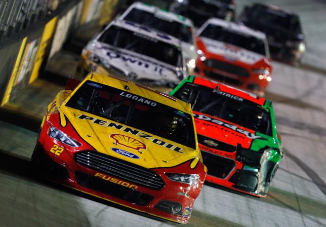 NASCAR - Bristol - Joey Logano - Ford Fusion