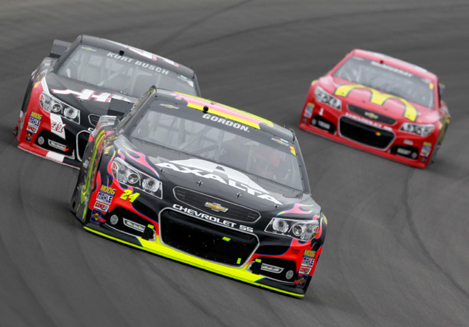 NASCAR - Michigan - Jeff Gordon - Chevrolet SS