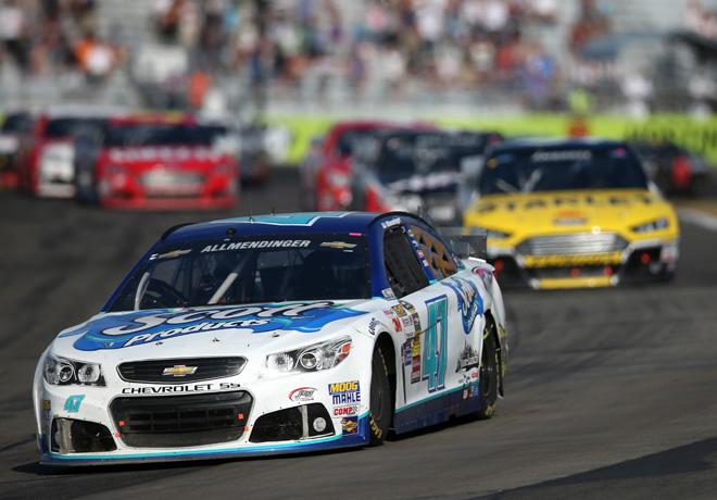 NASCAR - Watkins Glen - AJ Allmendinger - Chevrolet SS