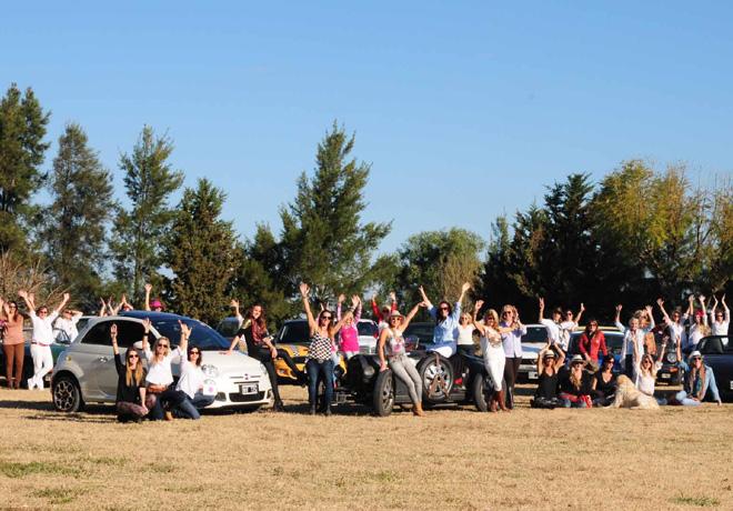 Presentacion Rally de las Princesas Copa Fiat en El Refugio 1
