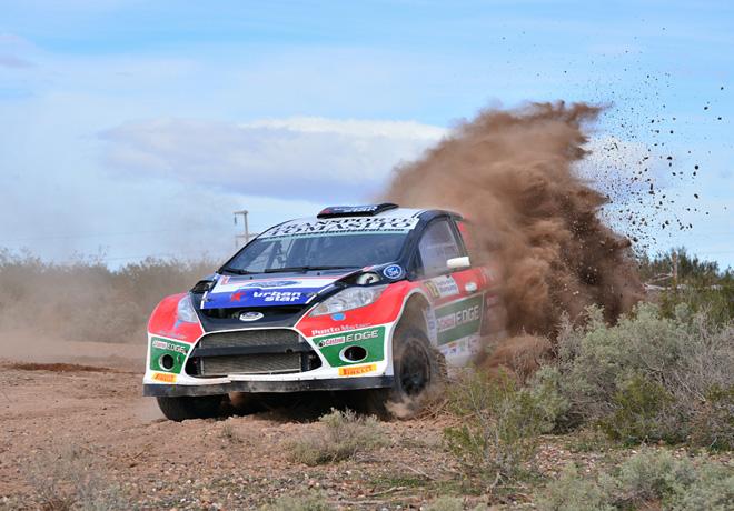 Rally Argentino - Rio Negro - Etapa 1 - Nicolas Madero - Ford Fiesta Maxi Rally