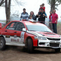 Rally Federal - Guatimozin 2014 - Etapa 1 - Federico Devoto - Mitsubishi Lancer EVO
