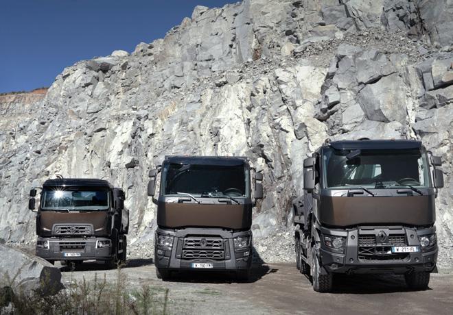 Renault Trucks - gama construccion