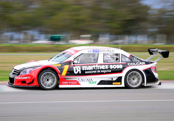 Top Race - Junin 2014 - Agustin Canapino - Mercedes-Benz