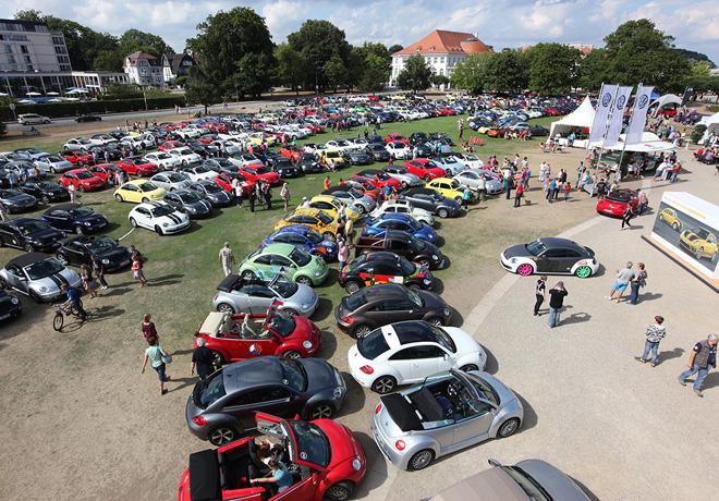 VW - Decimo aniversario del Beetle Sunshine Tour 2
