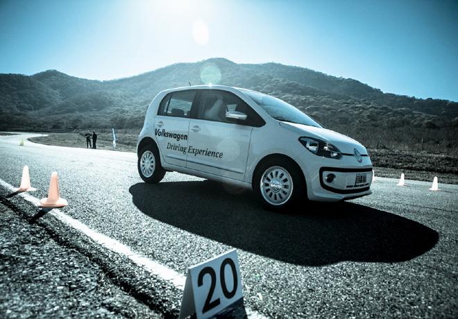 Volkswagen Driving Experience 2014.