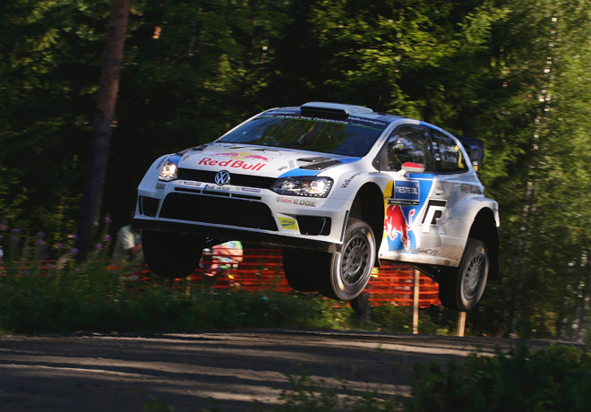 WRC - Finlandia 2014 - Dia 3 - Jari-Matti Latvala - VW Polo R