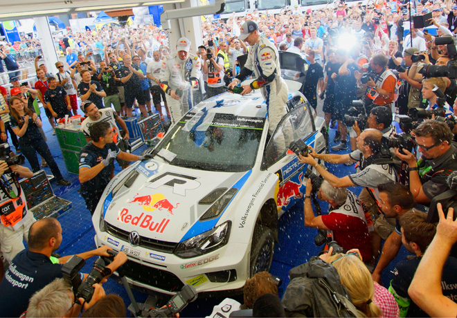 WRC - Finlandia 2014 - Final - Jari-Matti Latvala - VW Polo R