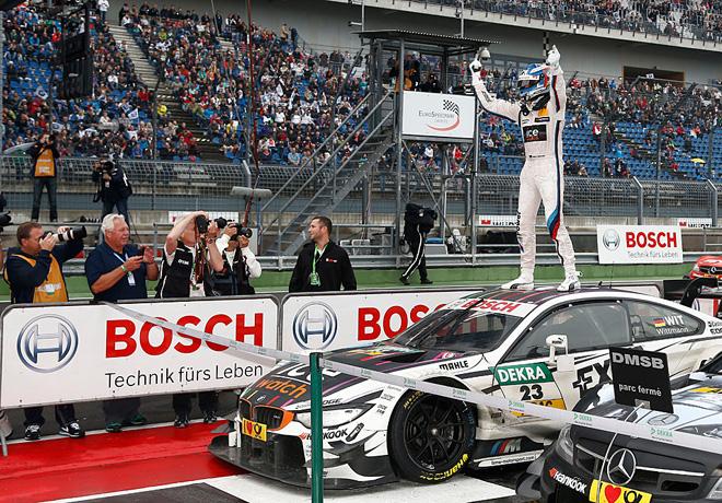 DTM en Lausitzring – Carrera: Pascal Wehrlein fue el vencedor, y Marco Wittmann se consagró campeón.