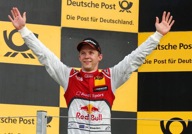 DTM - Zandvoort - Mattias Ekstrom en el Podio
