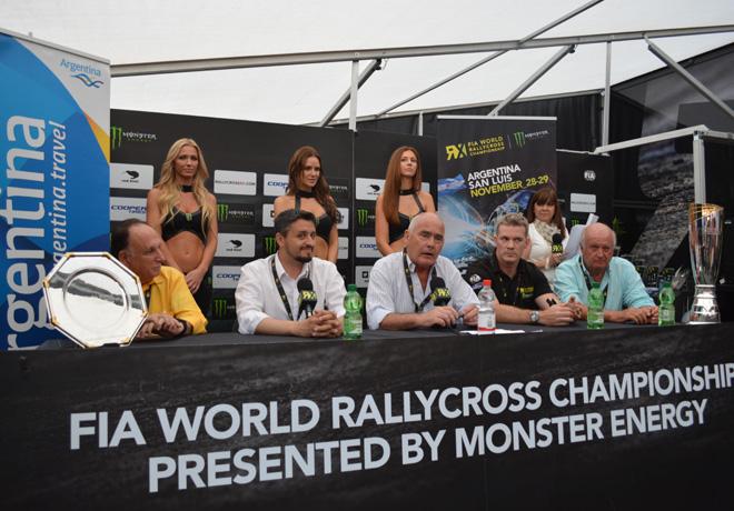 El Rallycross Argentina fue presentado en Alemania