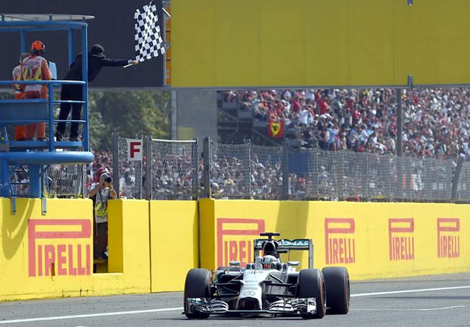 F1 - Italia 2014 - Lewis Hamilton - Mercedes GP