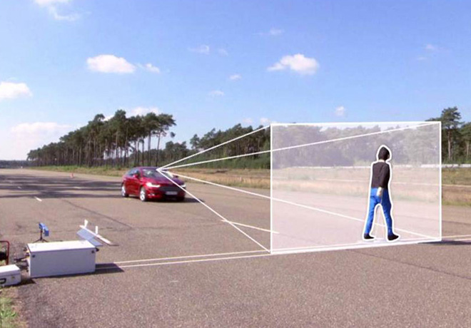 Ford anuncio tecnologia de avanzada que detecta peatones
