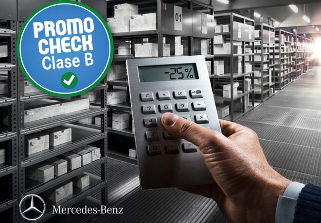 Mercedes-Benz - Promocion para clientes Clase B
