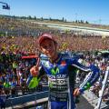 MotoGP - Misano - Valentino Rossi en el Podio