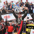 NASCAR - Dover - Jeff Gordon en el Victory Lane
