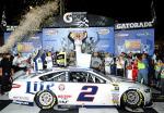 NASCAR - Richmond - Brad Keselowski en el Victory Lane