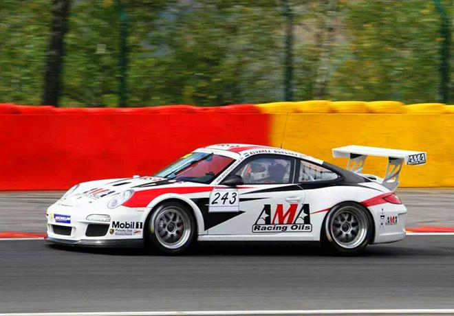 Porsche Sports Cup en Spa-Francorchamps – Carrera 2: Juan Cruz Álvarez fue sexto.