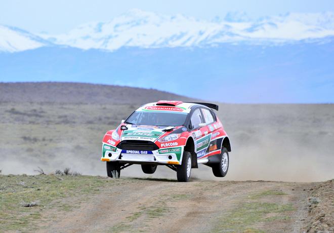 Rally Argentino - El Calafate 2014 - Federico Villagra - Ford Fiesta MR