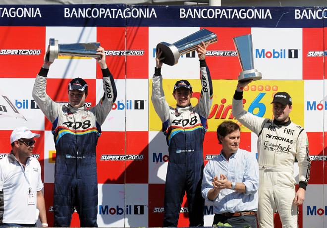 STC2000 - Callejero de Santa Fe - Carrera diurna - Canapino - Girolami - Ledesma en el podio