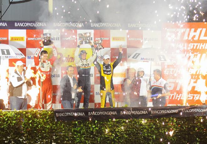STC2000 - Callejero de Santa Fe - Rossi  -Girolami - Pernia en el podio