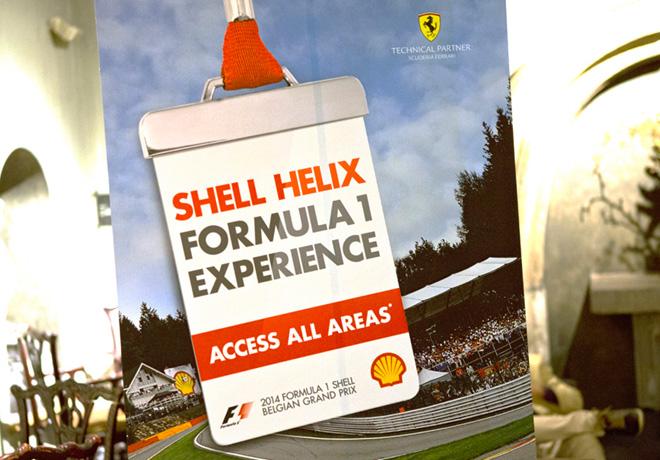 Shell Helix premio a los ganadores de la promoción global 2014 - Acceda a todas las Areas 1