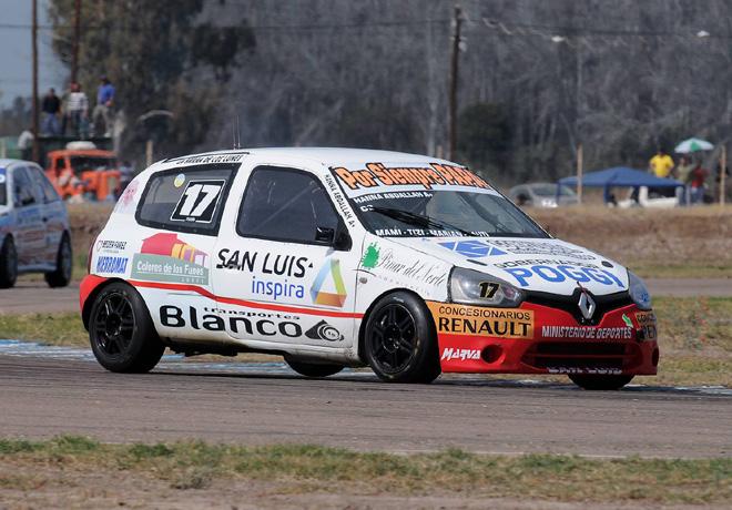TN - San Martin - Mendoza 2014 - Clase 2 - Hanna Abdallah - Renault Clio