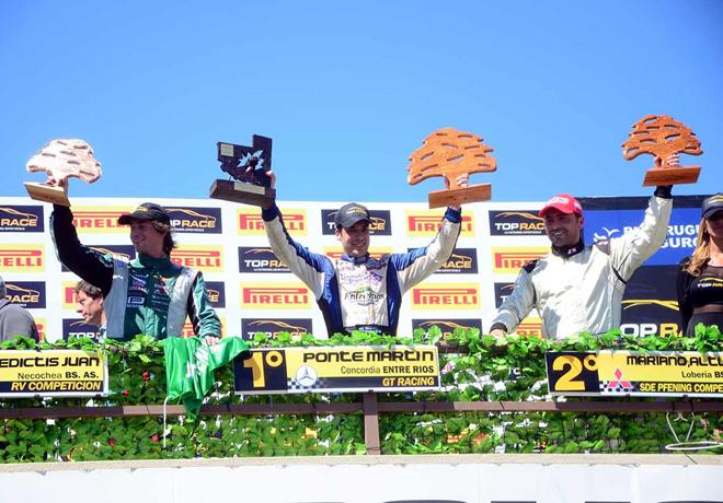 Top Race - Toay 2014 - De Benedictis - Ponte - Altuna en el Podio